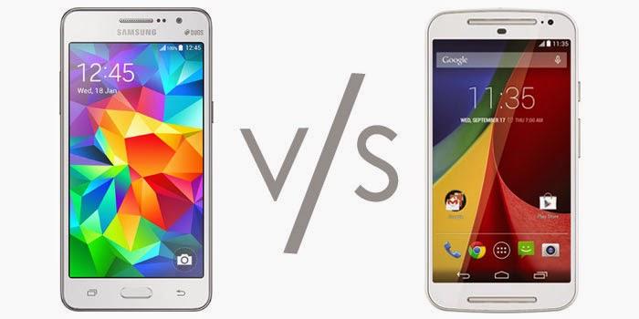 Samsung Galaxy Grand Prime Vs Moto G 2nd Gen Comparison