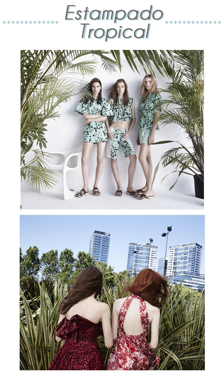 Estampado Tropical Zara