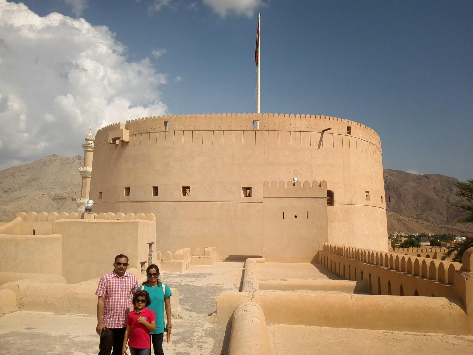 Mumbaikars In Muscat A Visit To Nizwa Bahla Jibreen Forts