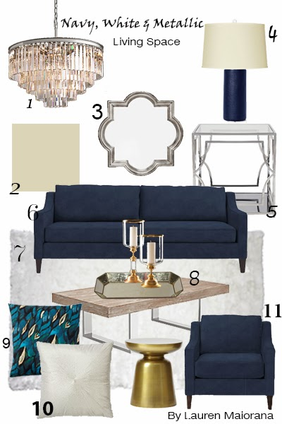Design your dreams mixing metallics for Metallic living room ideas