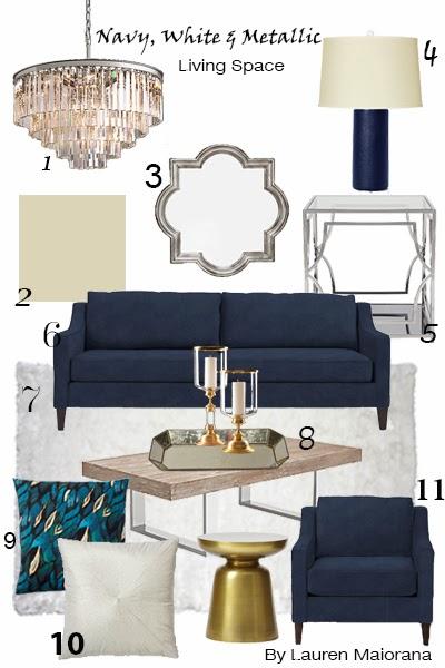 Design your dreams mixing metallics for Metallic living room ideas