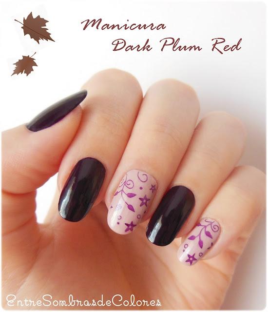 manicura otoño KIKO estampación
