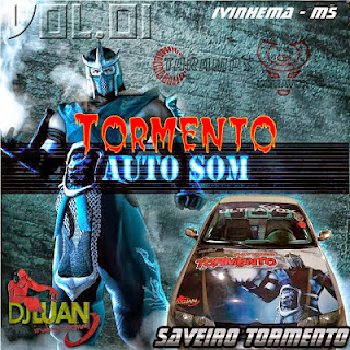 CD Saveiro Tormento Vol.01 - DJ Luan Indiscutivel