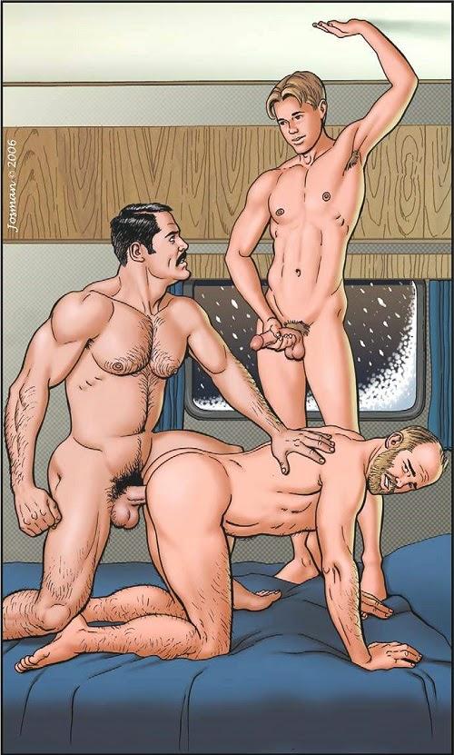 Josman - Cellmates - Divers images gay 2 - Le site de comixgay