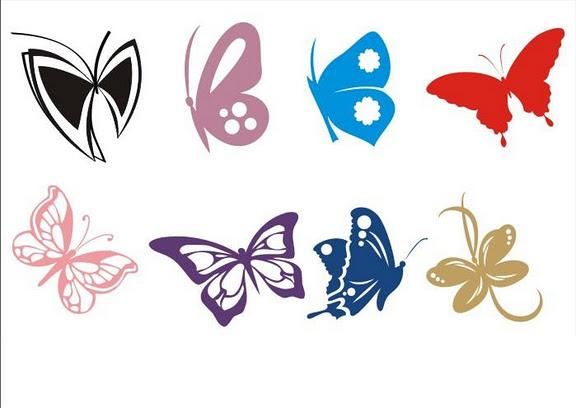 Бабочки на стену трафареты искусство