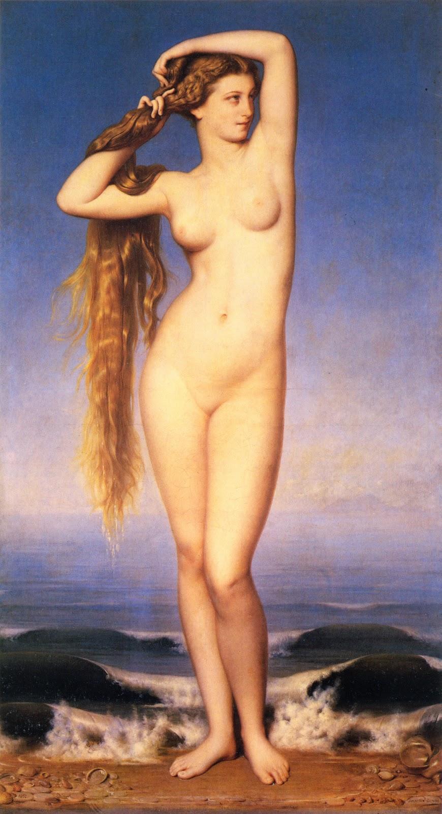 Amaury Duval, La Naissance de Vénus (1862)