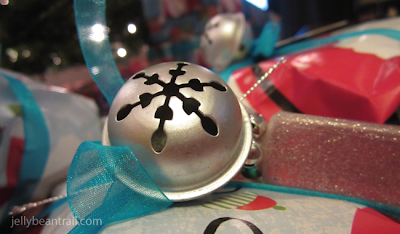Decorate gifts with jingle bells