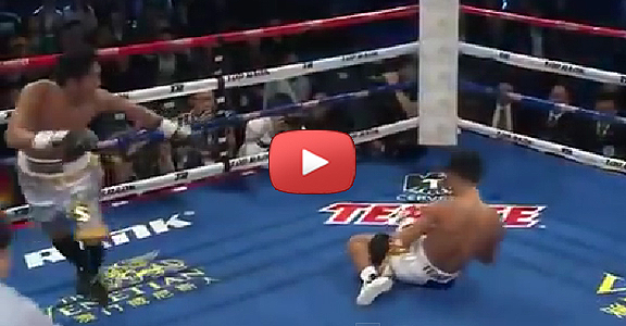 Marvin Sonsona's BRUTAL Knockout of Akifumi Shimoda Makes It To ESPN Top Knockouts Of 2014 (VIDEO)
