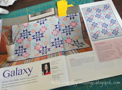 Galaxy quilt from McCall's Quilting, May/June 2014