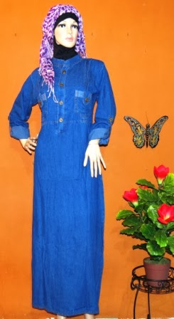 Gamis Levis Tanah Abang Gj1046 Grosir Baju Muslim Murah