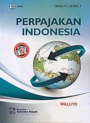 toko buku rahma: buku PERPAJAKAN INDONESIA EDISI 11 BUKU 1, pengarang waluyo, penerbit salemba empat
