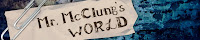 Mr. McClung's World Banner
