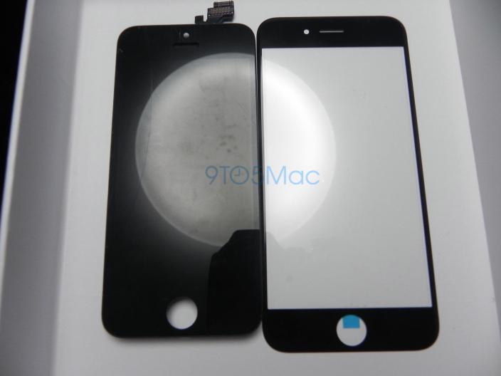 painel frontal do iPhone 6 de 4,7 polegadas e do 5s