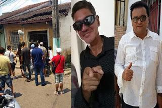 Geraldo Luís do Domingo Show grava matéria especial com Marquinhos Mattos e oferece ajuda ao cantor