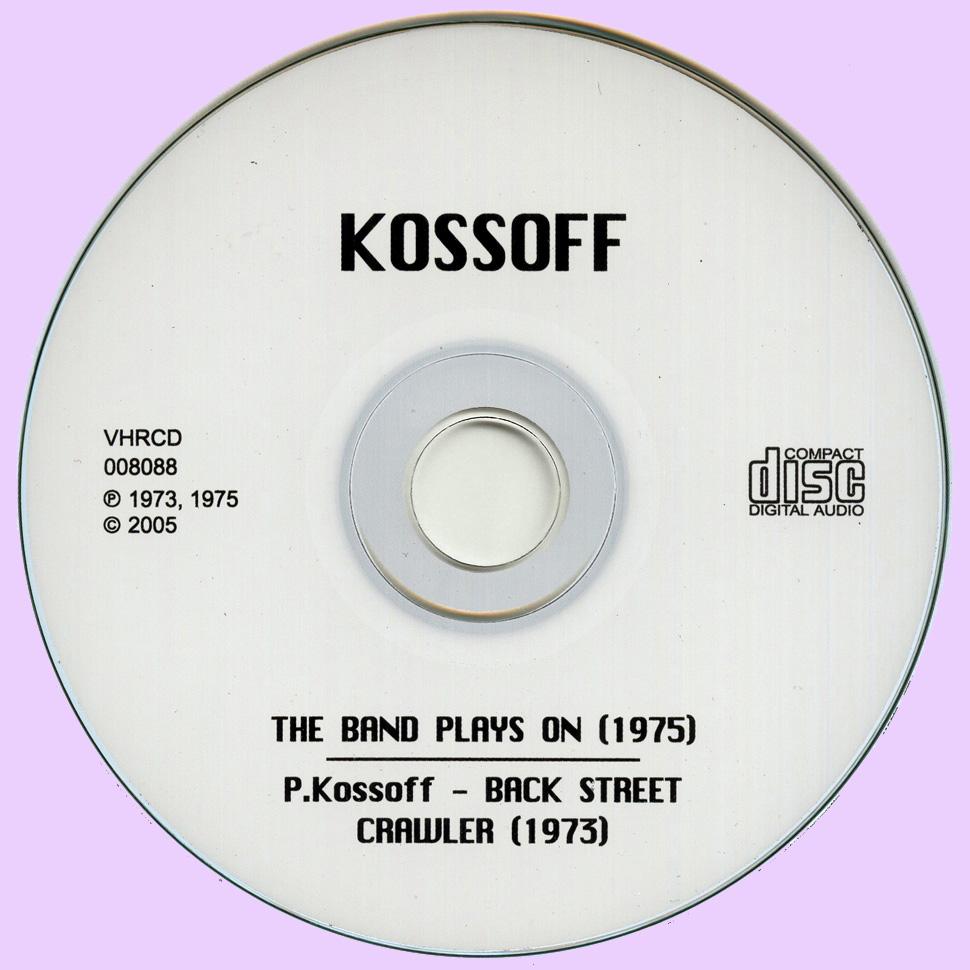 Paul Kossoff Koss