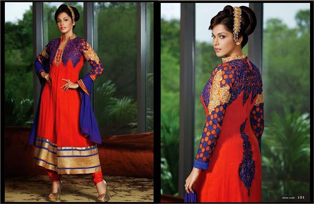 Excellent Wedding Designer Anarkali Salwar Suits With Full Sleeve