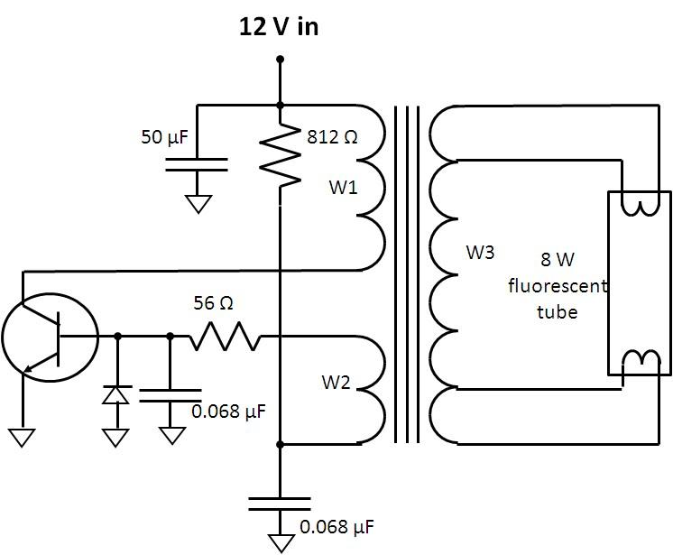 Watt U0026 39 S Up   Flyback Inverter For Fluorescent Lamp  Part 2
