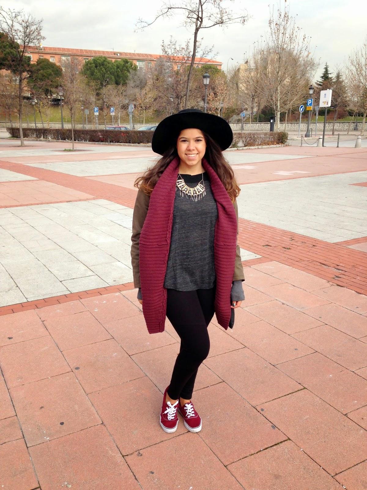 Letmecrossover_blog_fashion_ootd_parka_primark_forever21_wine_color