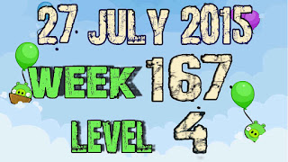 Angry Birds Friends Tournament level 4 Week 167