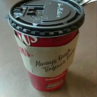 Tim Hortons Medium Black Coffee