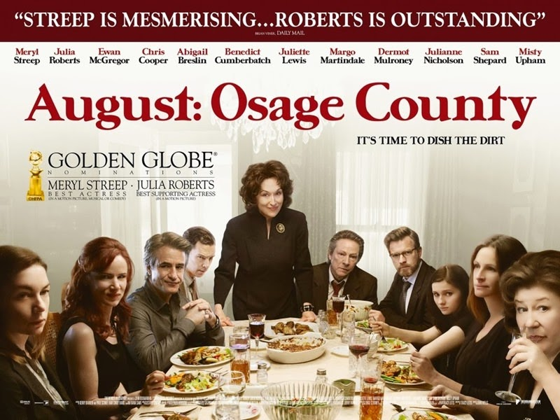 august osage county 71st golden globe nominations