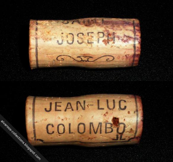 Wine cork: Saint Joseph, Jean-Luc Colombo 'JL'