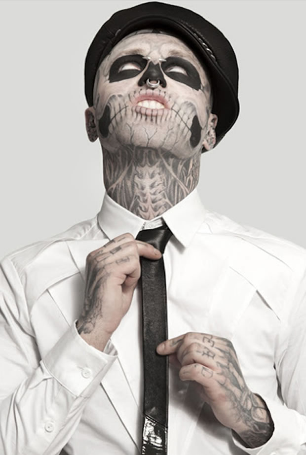 Rick Genest, aka Zombie Boy (Foto: Divulgação)