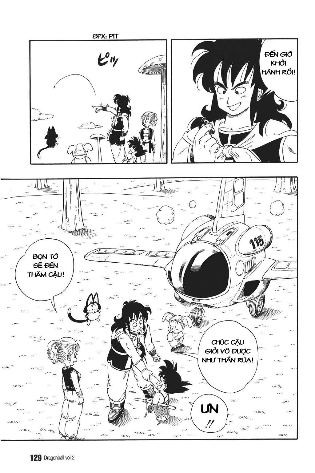 xem truyen moi - Dragon Ball Bản Vip - Bản Đẹp Nguyên Gốc Chap 23