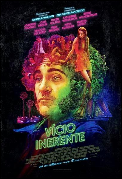 """Poster do filme """"Vício Inerente"""""""