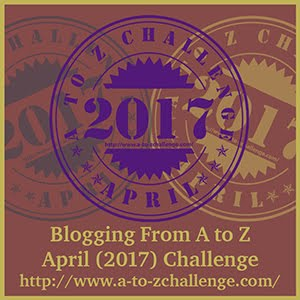 Participating at A to Z Challenge 2017