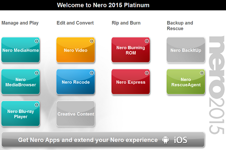Download Nero 2015 Platinum Plus Patch & Serial Number ( 247 MB ).