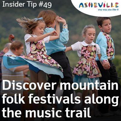 Asheville Insider Tip: Finding Asheville Music Traditions Has Never Been Easier with the Blue Ridge Music Trail.