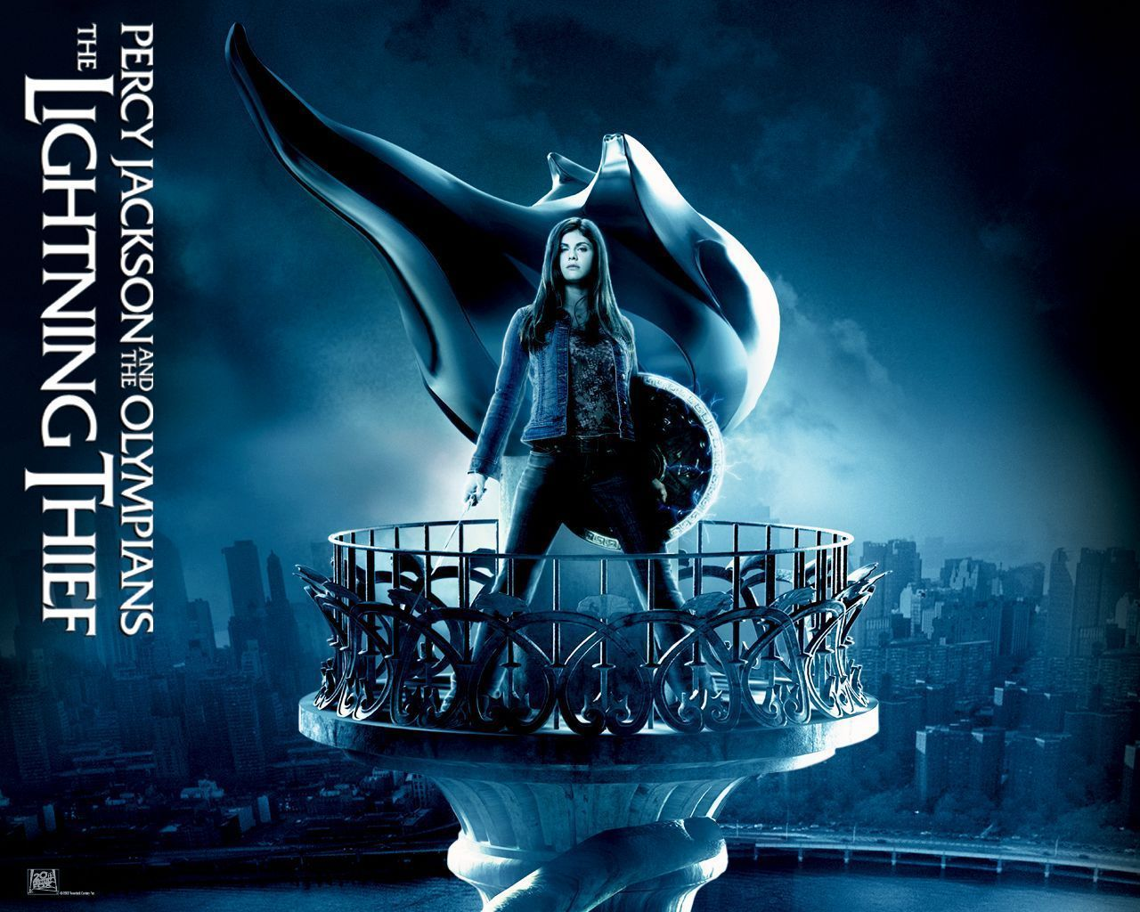 Alexandra daddario in percy jackson and the olympians the lightning