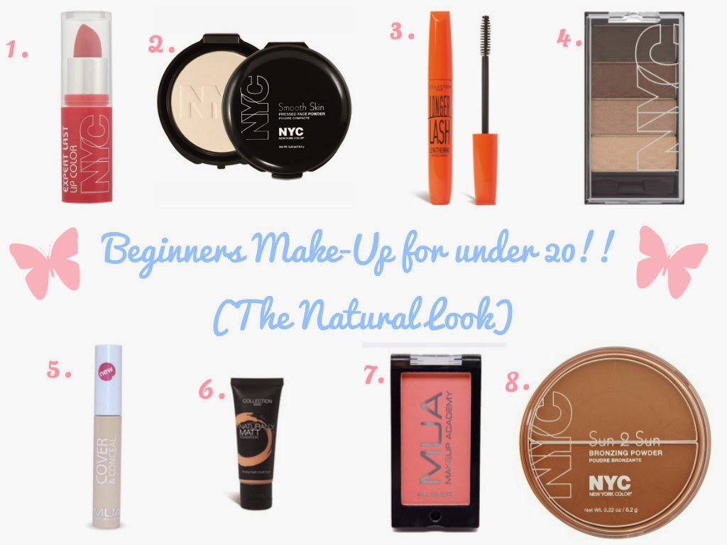 Under £20 make up look