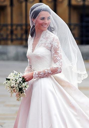 Булчинската рокля на Кейт Мидълтън