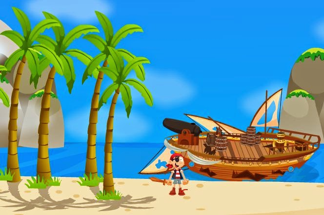 Play BigEscapeGames Pirates Is…