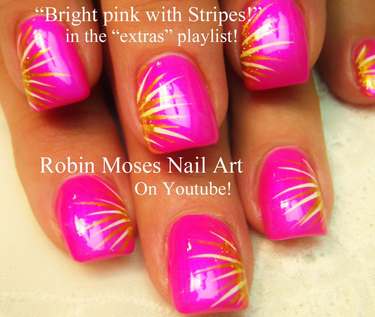 Robin moses nail art may 2011 pretty in pink isnt she pretty in pink isnt she prinsesfo Image collections