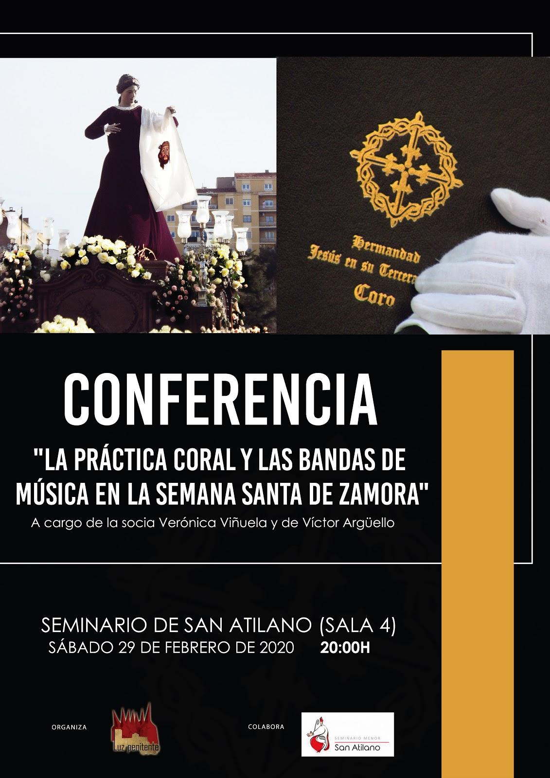 """CONFERENCIA """"PRÁCTICA CORAL Y BANDAS DE MÚSICA"""""""