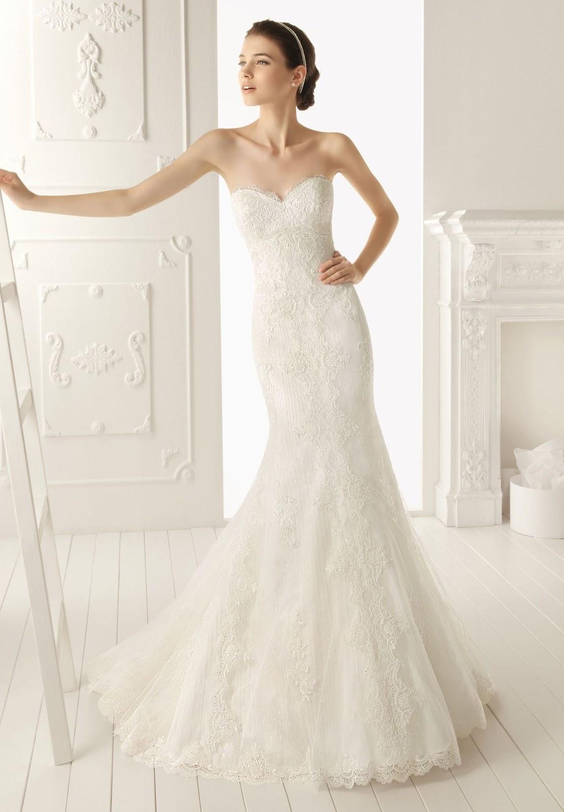 Lace Wedding Dresses Simple and Elegant
