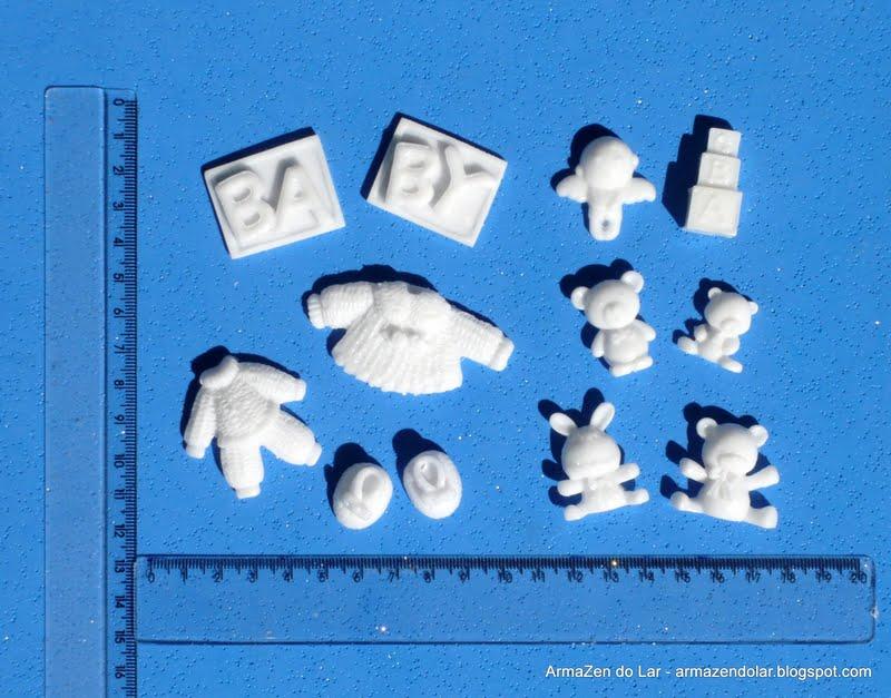 Apliques em resina by andreea mello apliques para beb s - Apliques antiguos de pared ...