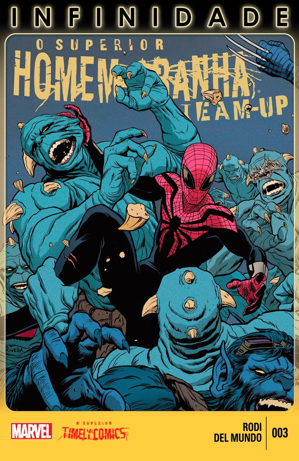 Nova Marvel! O Superior Homem-Aranha - Team Up #3