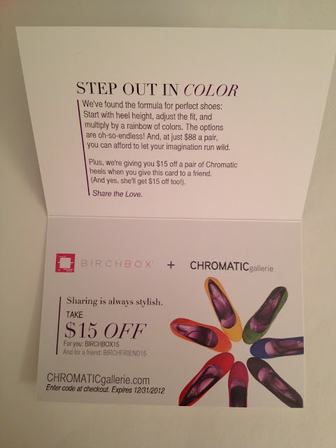 Birchbox & Chromatic Gallerie