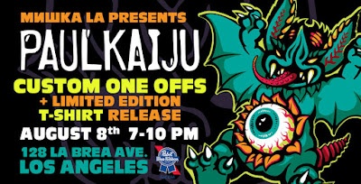 Paul Kaiju One Night Only Pop-Up Store at Mishka LA Flagship Store