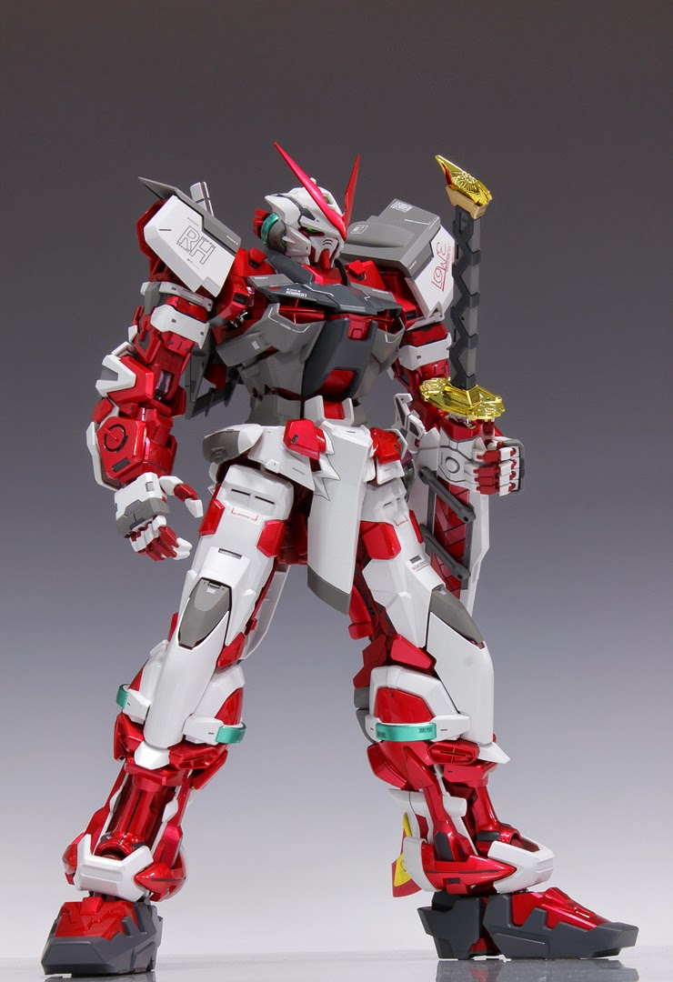 Painted Build: PG 1/60 Gundam Astray Red Frame - Gundam Kits ...