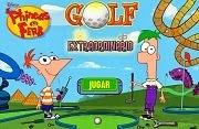 Phienas y Ferb Golf extraordinario