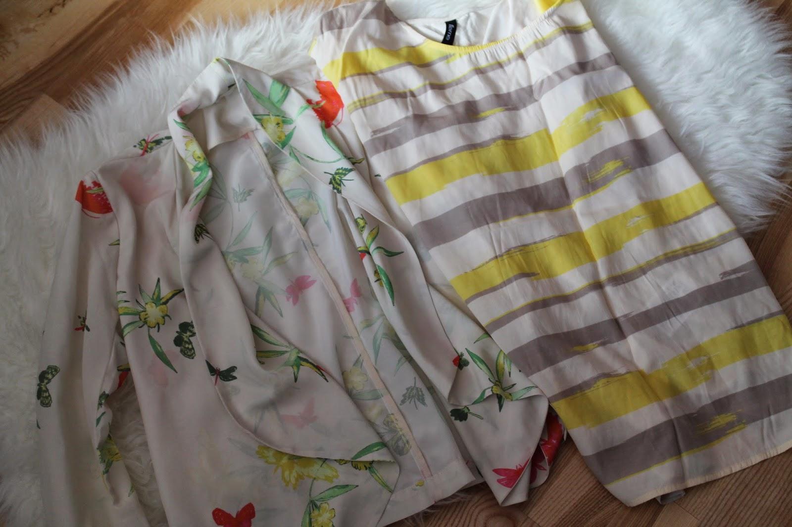 Spring Essentials Blogger Frühling Österreich Austria Kärnten Carinthia Vienna Wien Klagenfurt Fashion Blogger  Blazer Flowers Yellow Takko