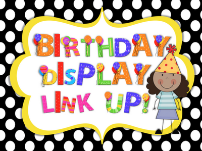 photo of: I'm Bloghoppin' Bloghop on Birthday Displays