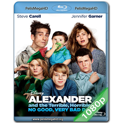 ALEXANDER Y EL DÍA TERRIBLE, HORRIBLE, ESPANTOSO, HORROROSO (2014) FULL 1080P HD MKV ESPAÑOL LATINO