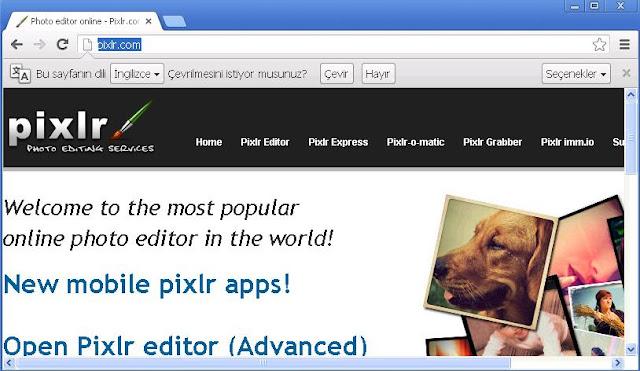 Pixlr Ana Sayfa