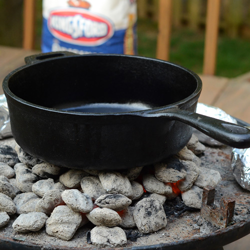 Kingsford cast iron,